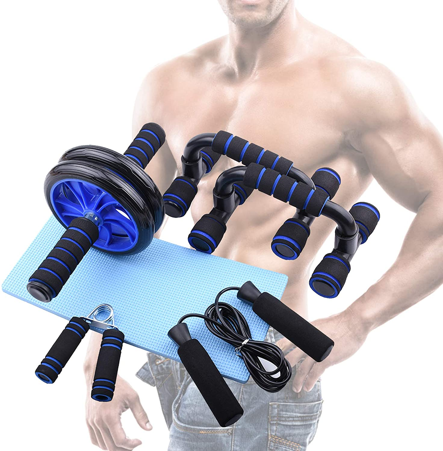 5 Pieces Fitness Exercise Set