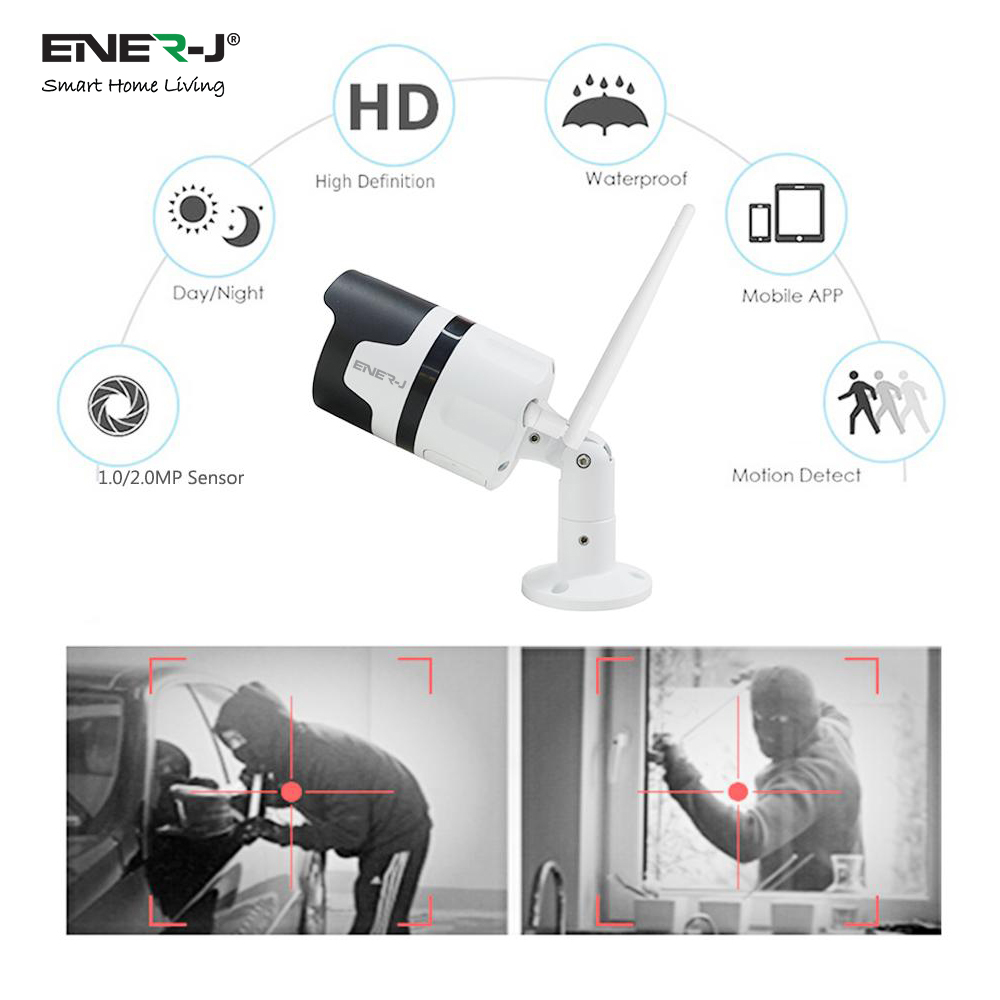 Smart Outdoor WiFi IP Camera 1.3MP