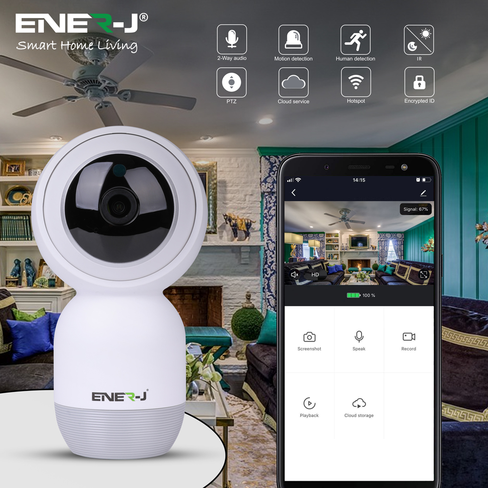 Smart Premium Indoor IP Camera with Auto Tracker