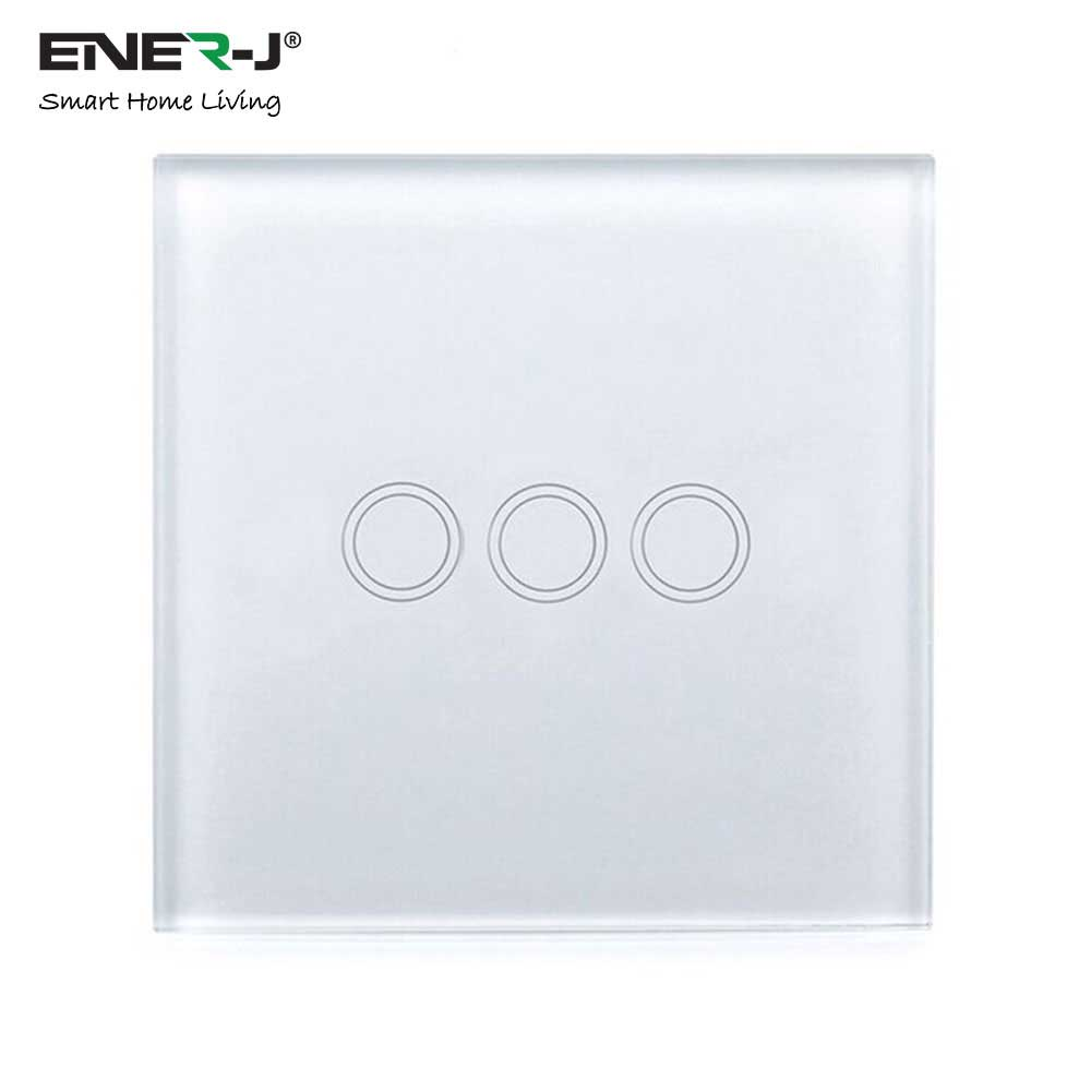 Wifi Smart 3 Gang Touch Switch