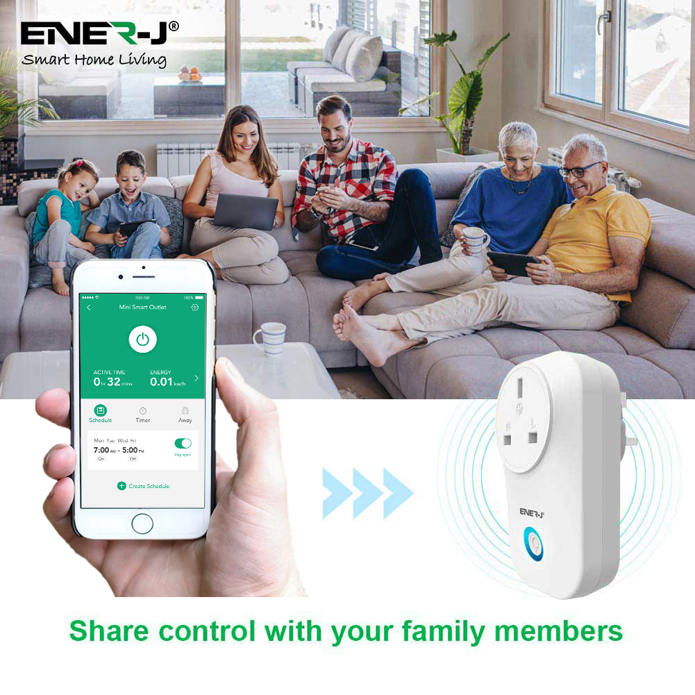 WiFi Smart Plugs with Energy Monitor UK