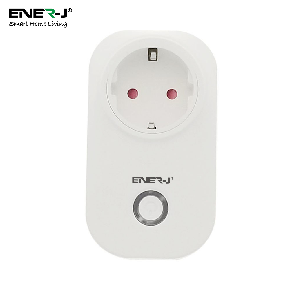 WiFi Smart Plugs with Energy Monitor, 16A EURO Plug