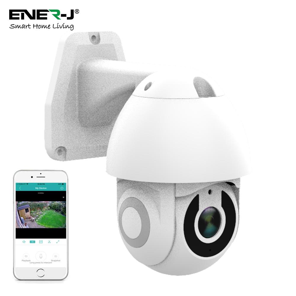 Smart Wifi IP Outdoor Dome Camera IP65