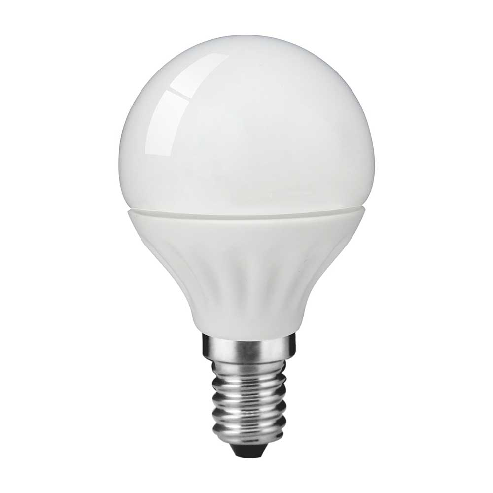 LED Bulb 4W E14 LED Golf Ball P45 3000K (pack of 10pcs)