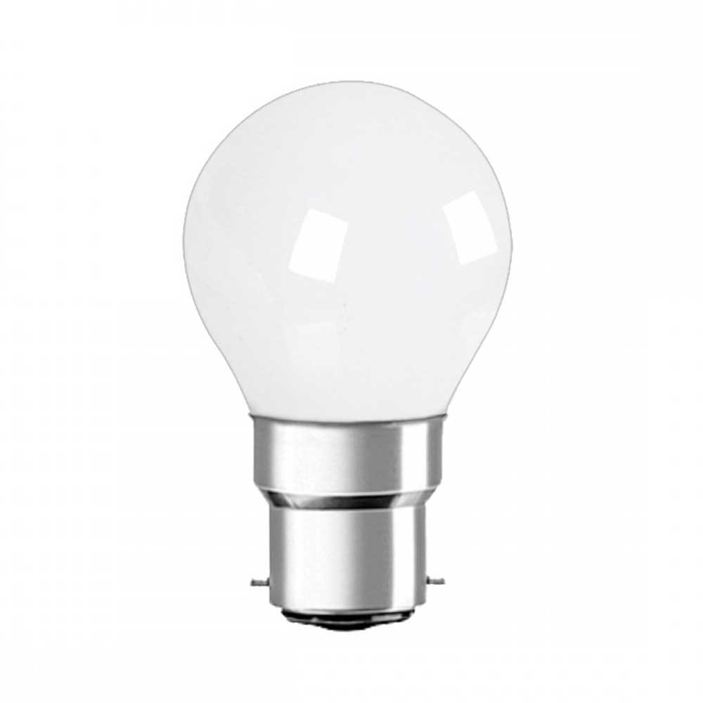4W LED Golf Bulb B22 G45 cap 6000K (pack of 10pcs)