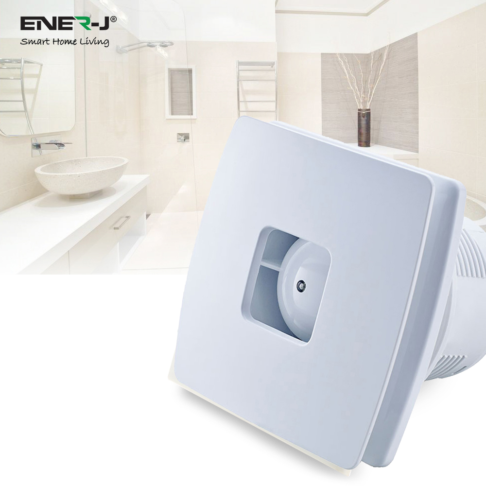 12W Wall/Window Mount Exhaust Fan Elite series, 100mm