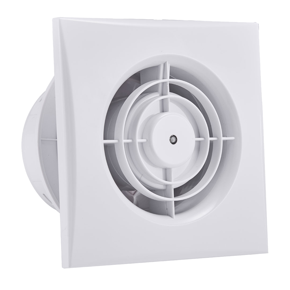 12W Wall/Window Mount Exhaust Fan Eco series, 100mm